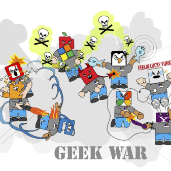 Geek War and Nerd Fighting