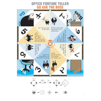 Office Fortune Teller - Go Ask the Boss