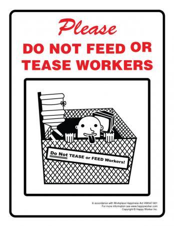 Funny Workplace Signs Workplace Warni...