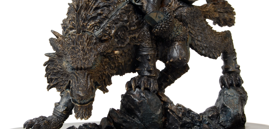 World Of Warcraft Orc Wolfrider 10th Annivesary Statue By Happy