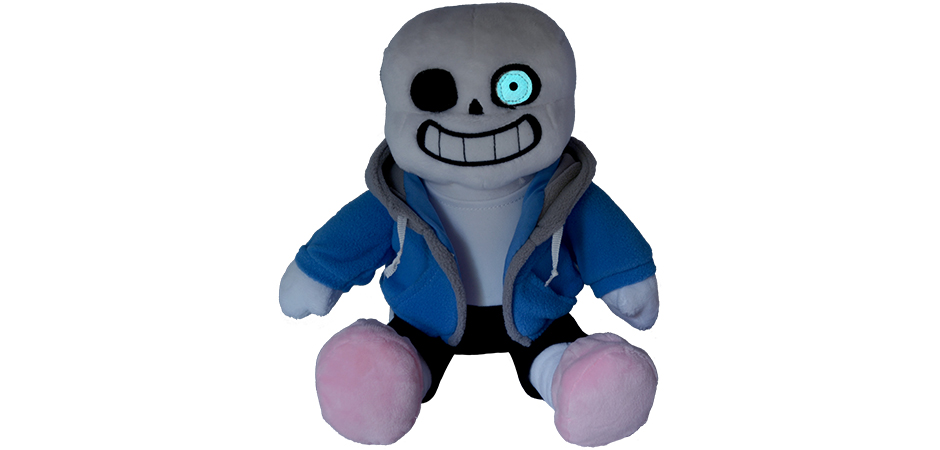 Undertale Sans and Papyrus Plush for Fangamer and Toby Fox   Happy