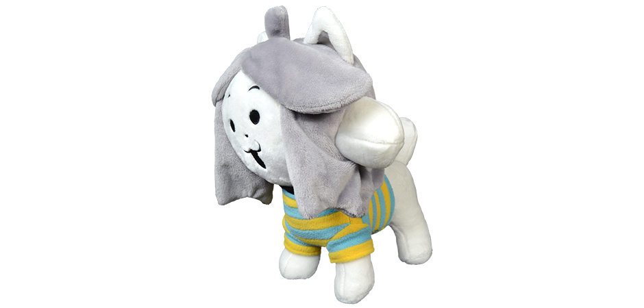 Undertale Temmie Plush Toy By Toby Fox Fangamer And