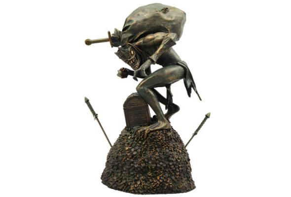 Blizzard Treasure Goblin Resin Figurine