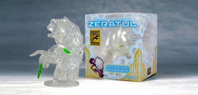 Blizzard Cute but Deadly Zeratul Figure and Box