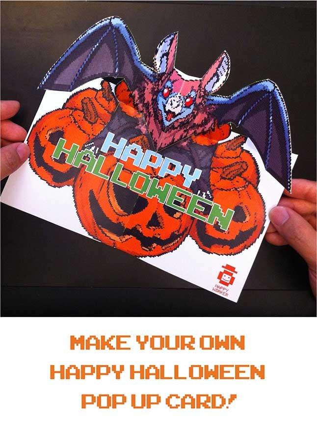Halloween Pop-up instructions
