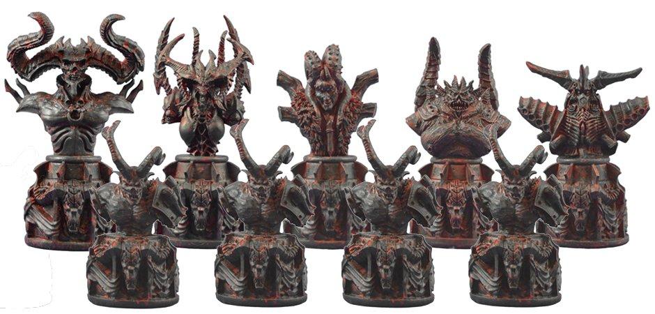 Blizzard Collector Chess Set Star Wars Collectors Edition Dc Collection 4 .  Dc Chess Collection Set ...