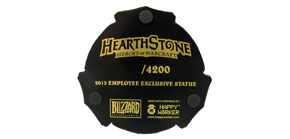 Hearthstone Figure Base Printing