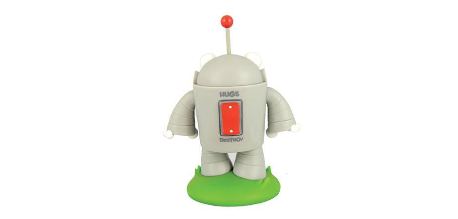 Custom Vinyl Toy of Moz Roger Robot