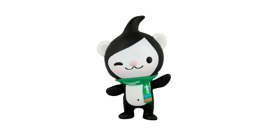 Vancouver 2010 Olympic Mascot Miga Vinyl Toy