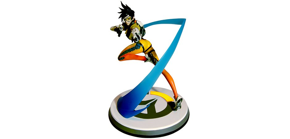 Overwatch Tracer Statue
