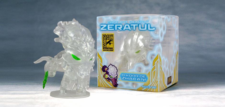 Cloaking Zeratul Cute But Deadly Vinyl Figure By Blizzard