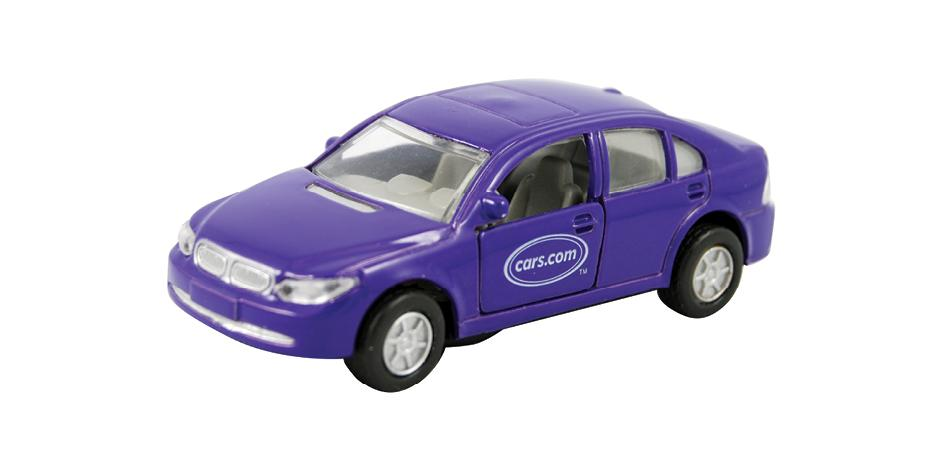 Cars.com Custom Die Cast Car by Custom Toymaker Happy Worker