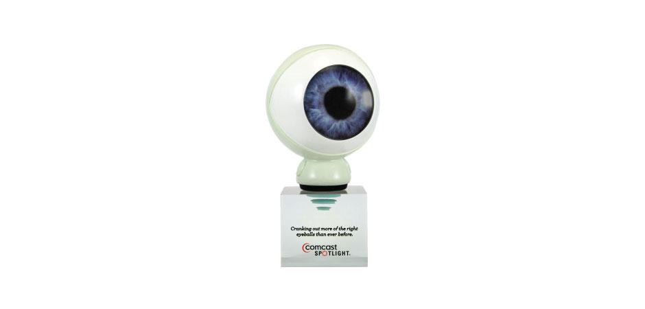 Comcast Spotlight EyeCon Figurine