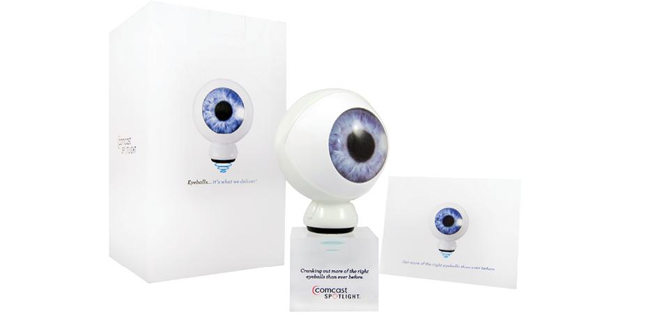 Comcast Spotlight Eye Figurine