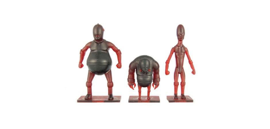 FITC Custom Toy Wrestling Figurine Prototypes