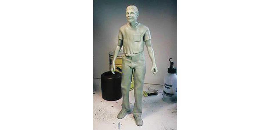 GeekMan Sculpture Prototype