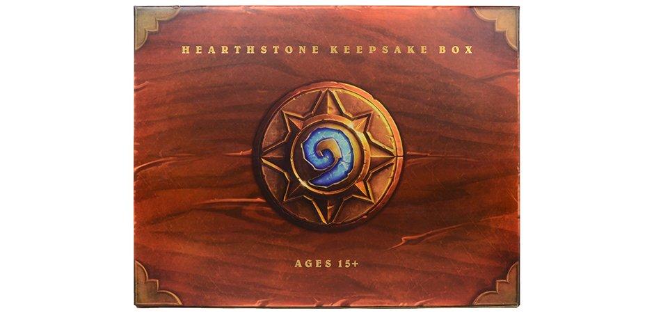 Hearthstone Blizzard Packaging
