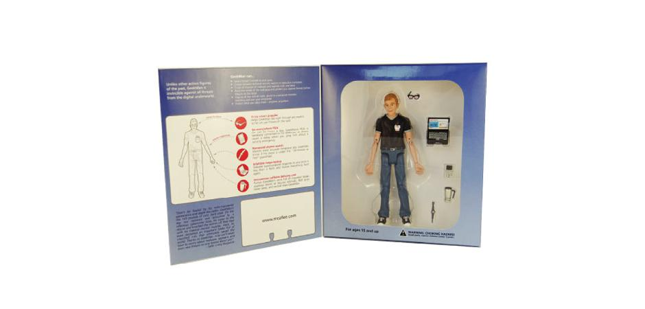 McAfee It Security GeekMan Action Figure