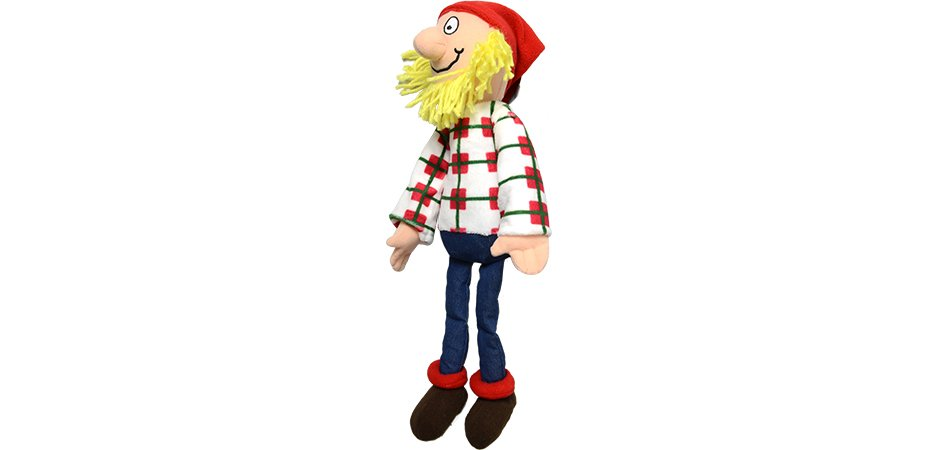 National Film Board of Canada Log Driver Stuffed Toy