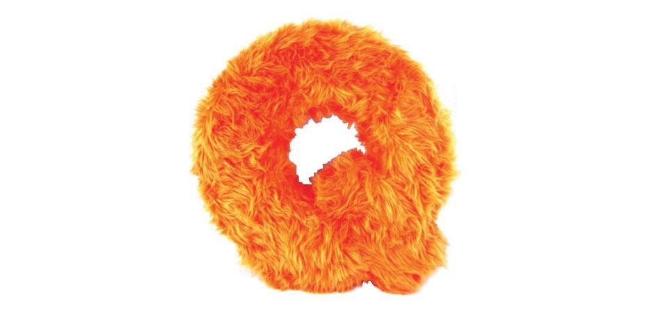 Faux Fur Fuzzy Q for Avenue Q