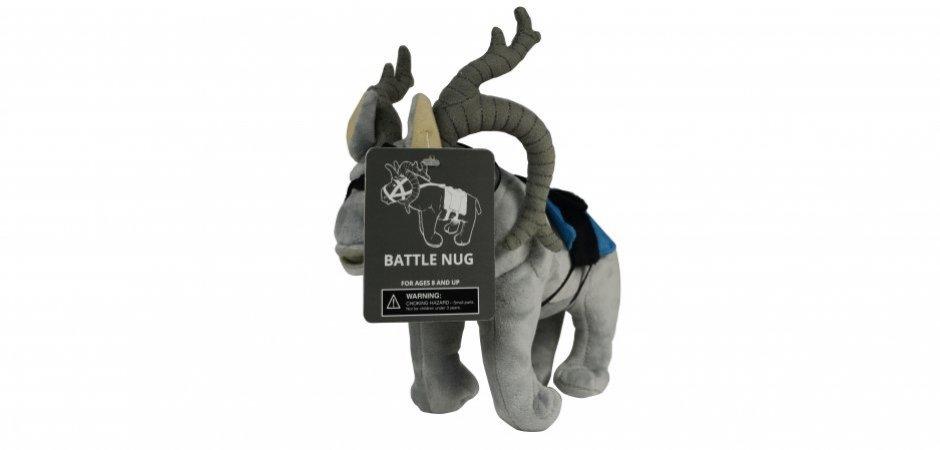 Collector Battle Nug Bioware Plush ThinkGeek Tag