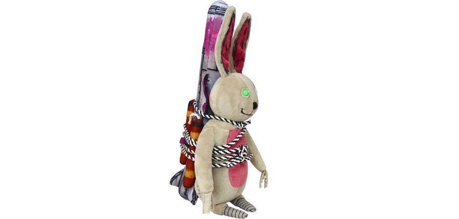 Rabbit ThinkGeek and Borderlands Tiny Tina Collector Plush