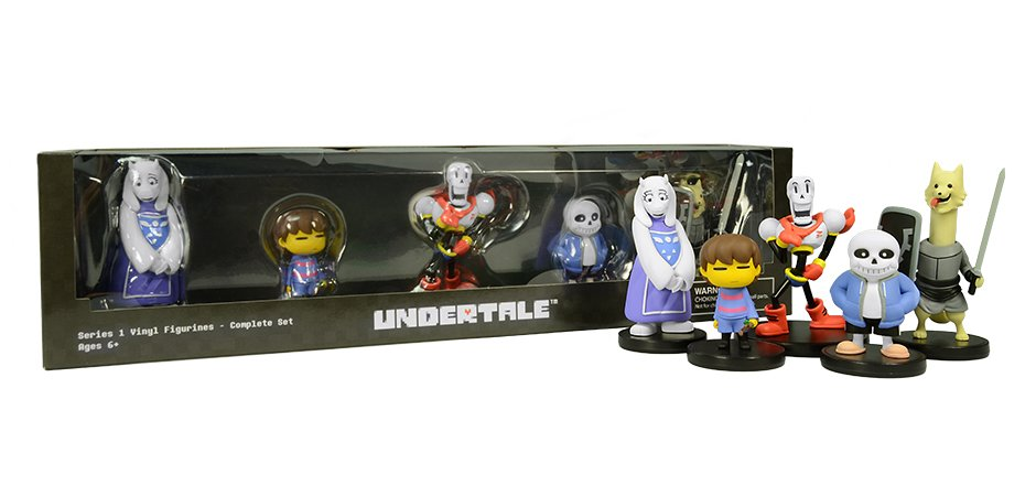 Undertale Fangamer Toby Fox Little Buddies