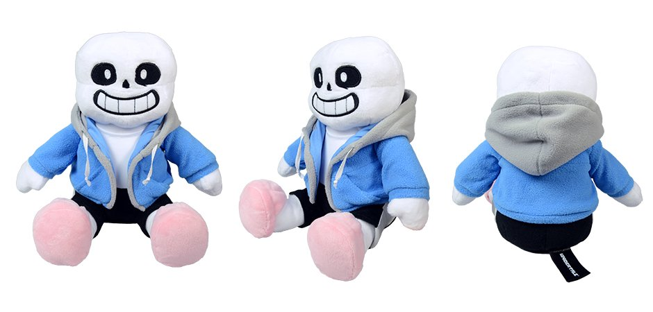 Undertale Sans and Papyrus Plush for Fangamer and Toby Fox | Happy
