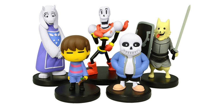 Undertale Little Buddies Figures