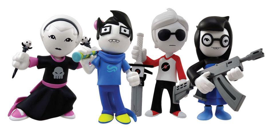 Homestuck Webcomic Vinyl Figures