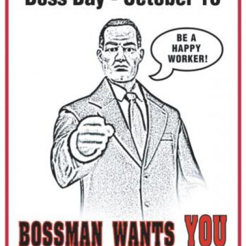 Pictures bosss day quotes funny happy birthday this boss 2 bosss day