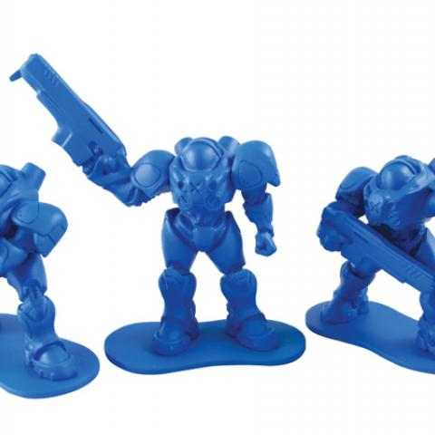 Blizzard Starcraft Marine Little Army Men