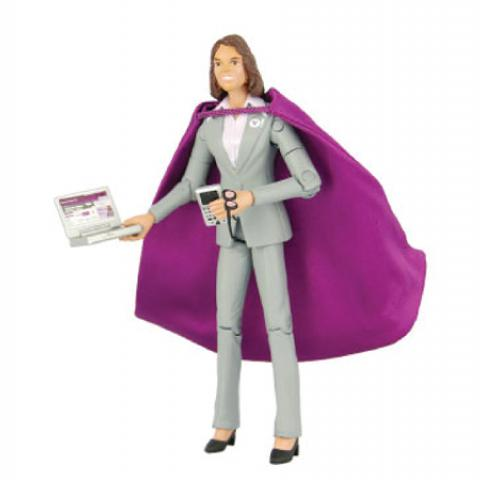 Custom Action Figure Super Recruiter