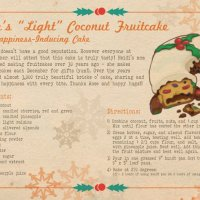 Rose's Fruitcake Recipe