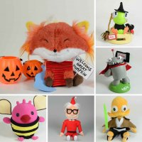 Happy Worker toys in Halloween customs