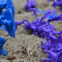 Starcraft Marine and Zergling Toys