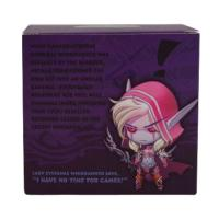 World of Warcraft Sylvanas Vinyl Figure Packaging Back View