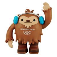 Vancouver 2010 Olympic Mascot Quatchi Vinyl Toy