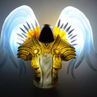 Blizzard Tyrael Night Light Glows in the Dark