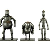 Custom Metal Figurines Fitc Design Festival Luchador