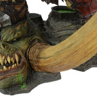 World of Warcraft Blizzard Grommash Hellscream Statue