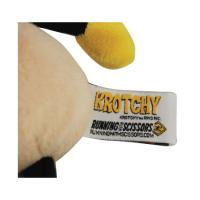 Running with Scissors Postal Krotchy Plush Toy Tag