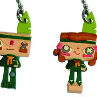 Iota and Atoi Tearaway Vinyl Charms