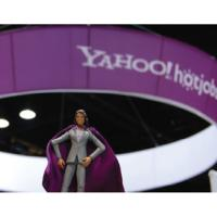 Super Recruiter Action Figure at Yahoo! Booth
