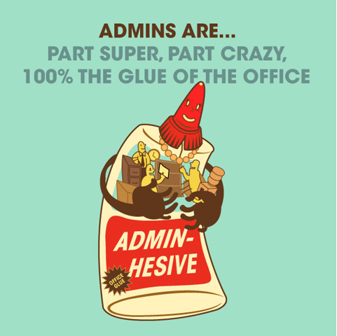 Fun for Admin Pros | Happy Worker Toys & Collectibles