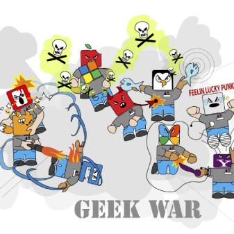 Geek War and Nerd Fighting