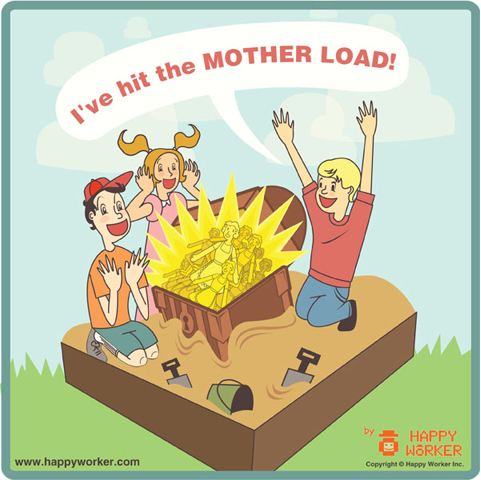 I've hit the mother load!