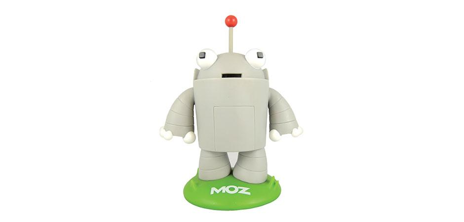 Moz Roger Vinyl Toy by Toy Manufacturer Happy Worker