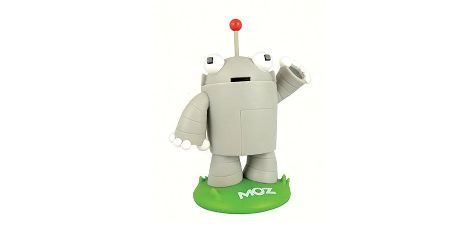 Roger MozBot Custom Vinyl Toy