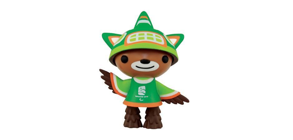 Vancouver 2010 Olympic Mascot Sumi Vinyl Toy